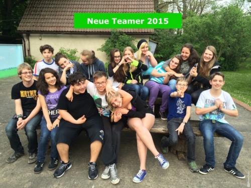 Neue Teamer 2015